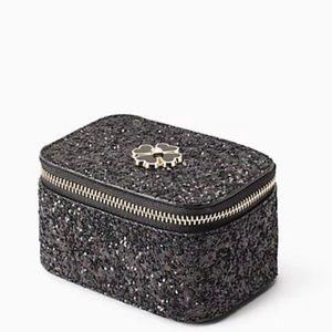 NWT Kate Spade Odette Glitter Jewelry Holder